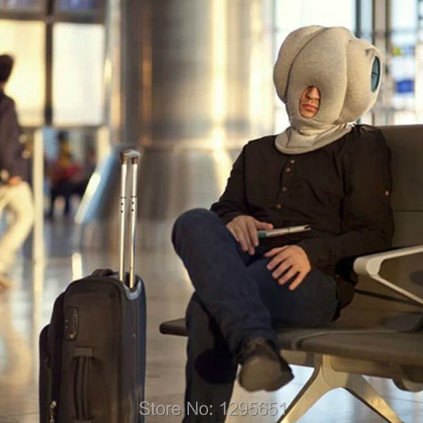 office sleeping pillow. new design ostrich pillow portable travel mask head sleeping aids office assistant free shipping