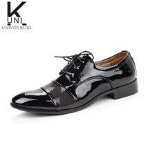 Nouveaux hommes de Mode D'été En Cuir D'affaires Chaussures Formelle Pointu Robe Oxford Angleterre De Mariage Sapatos Masculino Sociale C268