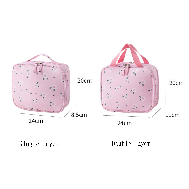 Cosmetic Bag High Quality Make Up Bag Women Waterproof Cosmetic Makeup Bag Organizer Trip For Toiletries Toilet Kit in Cosmetic Bags Cases from Luggage Bags