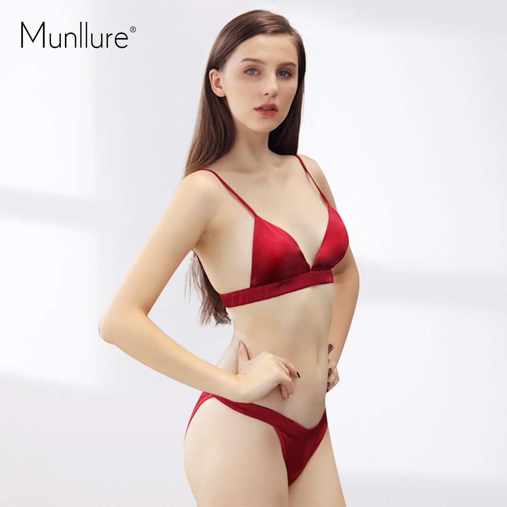 Munllure 2017 New Design Sexy Chinese Red Ultra Thin -3463