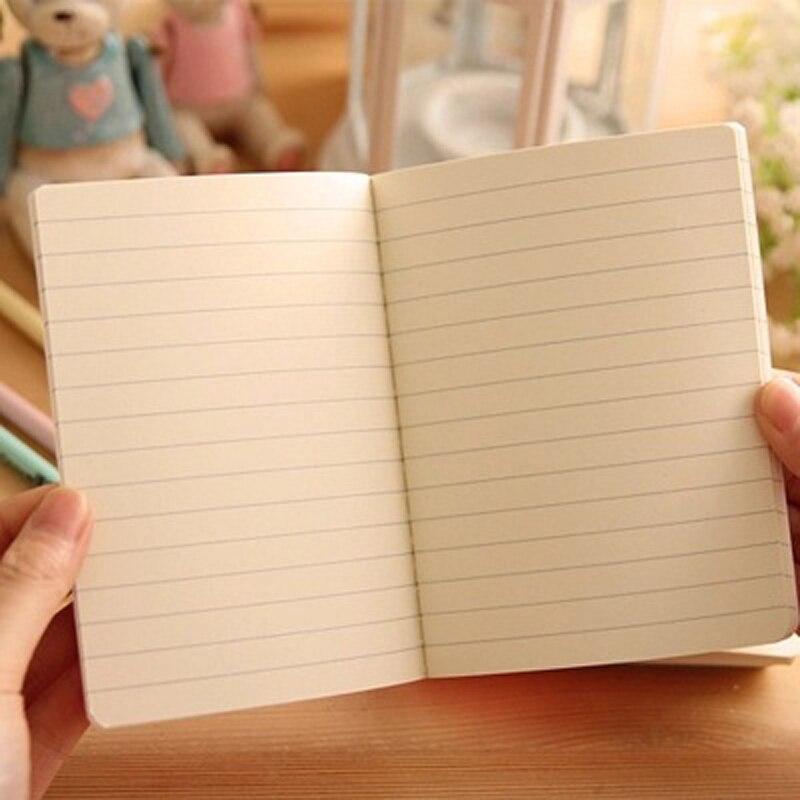 10 шт./лот 14*10.5 см 22 листов Корейский студент автомобиль линия A6 Тетрадь мягкие копия книги оригинальный английский обучения принадлежности ...