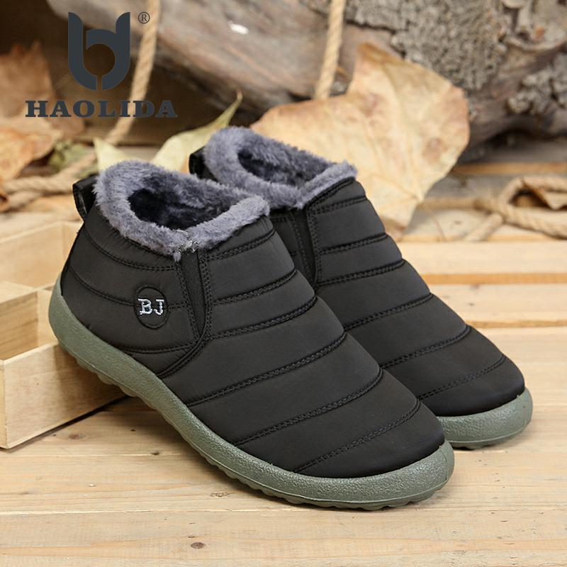 Fashion Winter 2018 Round Head High Gang Cotton Boots Keep Warm Soft And Comfortable High Quality Male And Female Cotton Boots 2017 female warm snow boots large size 41 cotton winter shoe for woman soft comfortable outdoor footwear high quality