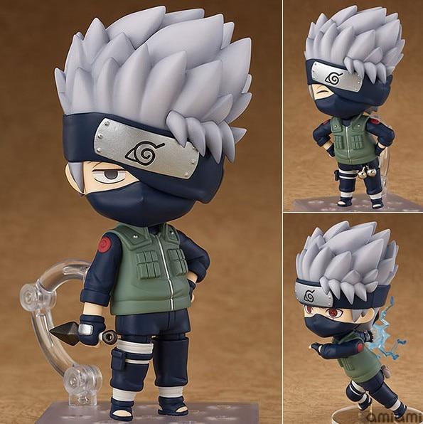 NEW Hot 10cm Naruto Hatake Kakashi Collector Action Figure Toys Doll Christmas Gift