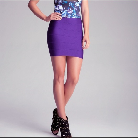 6dc2dc92d € 14.2 50% de DESCUENTO|BEAUKEY 2018 nuevas faldas de cintura alta lápiz  Sexy Mini vendaje elástico a rayas falda negro rojo púrpura blanco ...