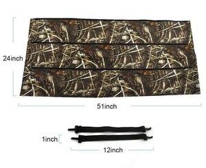 Черный камуфляжный чехол-органайзер MY DAYS для большинства внедорожников, грузовиков, задних сидений, для хранения ружья