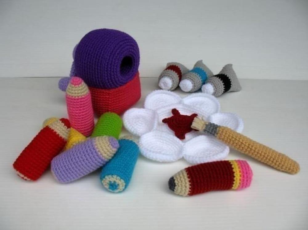 crochet toys  amigurumi  colorring set   model number w15782crochet toys  amigurumi  colorring set   model number w15782