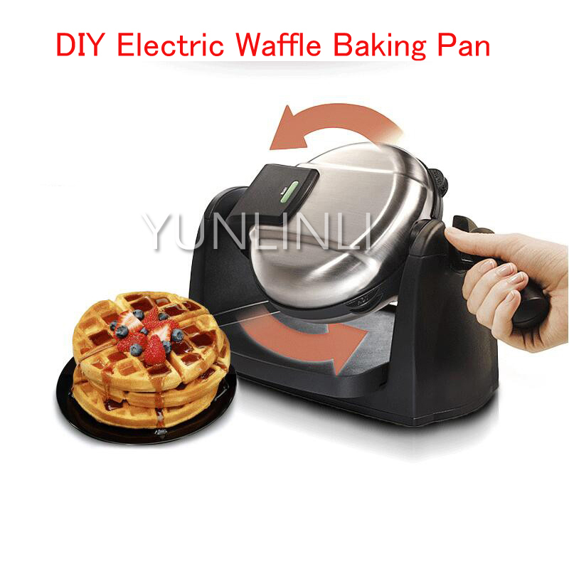 Electric Waffle Baking Pan Household Waffle Making Machine Automatic Waffle/Muffin Makers Double Heating 26030-CNElectric Waffle Baking Pan Household Waffle Making Machine Automatic Waffle/Muffin Makers Double Heating 26030-CN