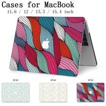 Nowy do laptopa Notebook MacBook Case Hot pokrowiec Tablet torby na dla MacBook Air Pro Retina 11 12 13 15 13.3 15.4 Cal Torba