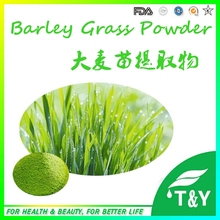 Organic Whole Food Supplement natural powder of barley grass extract 100g