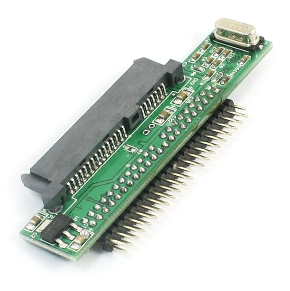 GTFS-7+15 Pin SATA SSD HDD Female to 2.5 44Pin IDE Male Adapter for Laptop