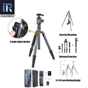 Image 2 - INNOREL RT55C Berufs Carbon Stativ Reise Kompakte Kamera Stativ Video Einbeinstativ mit Ball Kopf & Quick Release Platte