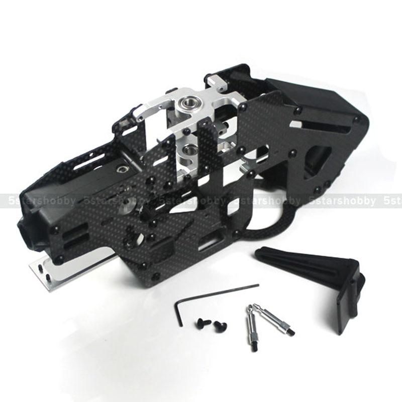 Hausler 450 Carbon Fiber Belt Drive Main Frame for Trex 450 PRO RC Helicopter