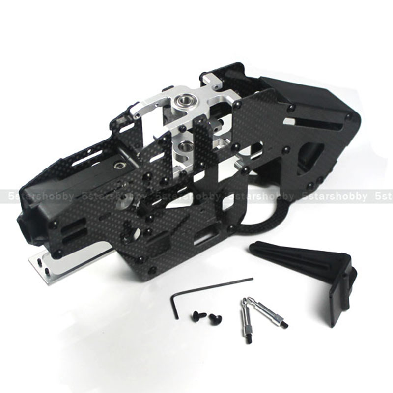 GARTT 450 Carbon Fiber Main Frame Set Belt Drive For Trex 450 Pro DFC Helicopter цены онлайн