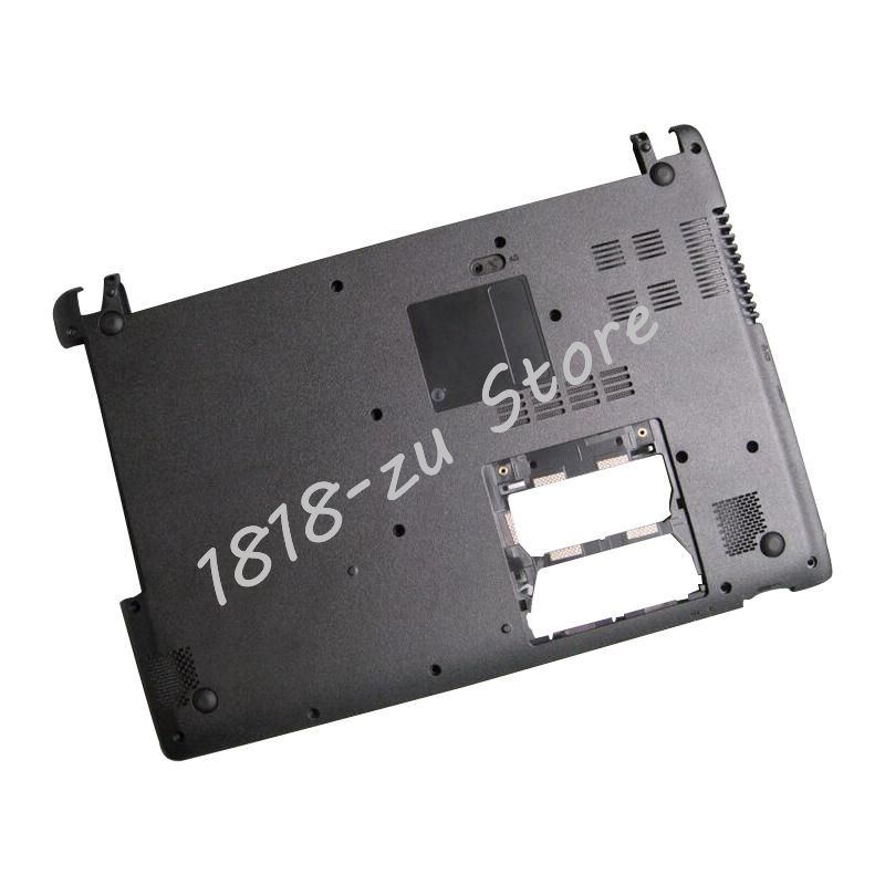 YALUZU NEW laptop Bottom case Base Cover for Acer Aspire V5 431 V5 431G V5 471 V5 471G With touch black D case