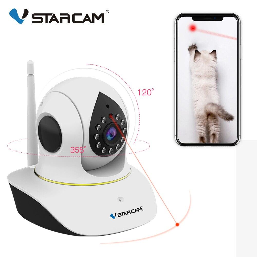 Vstarcam 1080P Pet IP Camera Wifi Video Surveillance Security Camera Remote Control Laser Play with Pet