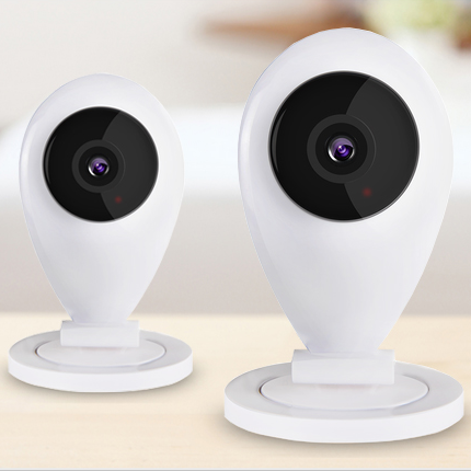 Wireless WIFI network camera HD million card machine mobile phone remote monitoring alarm intercom цена