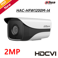 2MP Dahua HDCVI Camera HAC HFW1200M I4 HD 1080P IR Distance 100M CCTV Camera Starlight Level