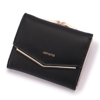 Women's Elegant Leather Wallet Bags and Wallets Women's Wallets Color: Black
