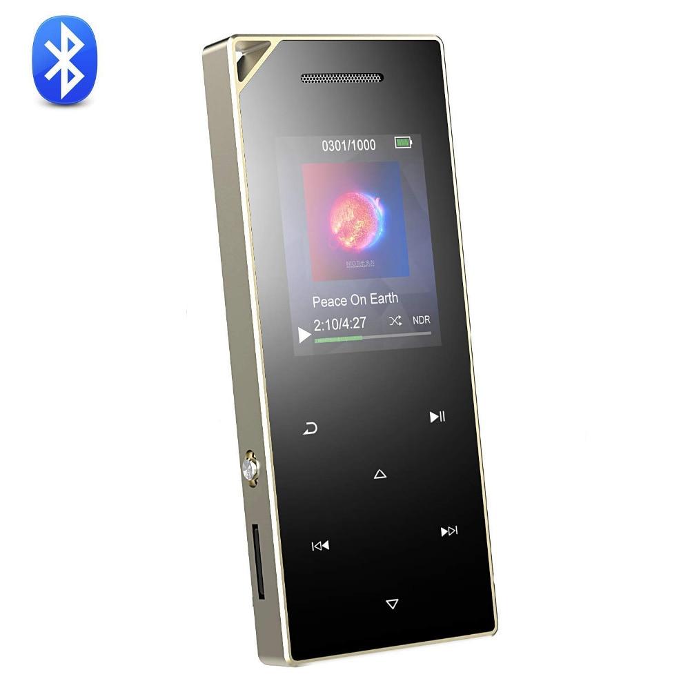 Unterhaltungselektronik VertrauenswüRdig Metall Mp3 Player Mit Bluetooth 4,0 Und Lautsprecher 1.8in Bildschirm 8g Tragbare Digitale Musik Audio Player Mit Fm Radio Aufnahme C05 Hifi-geräte