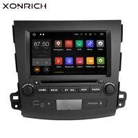 Xonrich 2 Din Android 8,1 автомобильный мультимедийный плеер для Mitsubishi Outlander 2011 2007 Авторадио gps Navi DVD головное устройство AudioWifi 4G