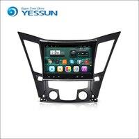 Car Android Media Player System For Hyundai Sonato 2011 2015 Autoradio Car Radio Stereo GPS Navigation