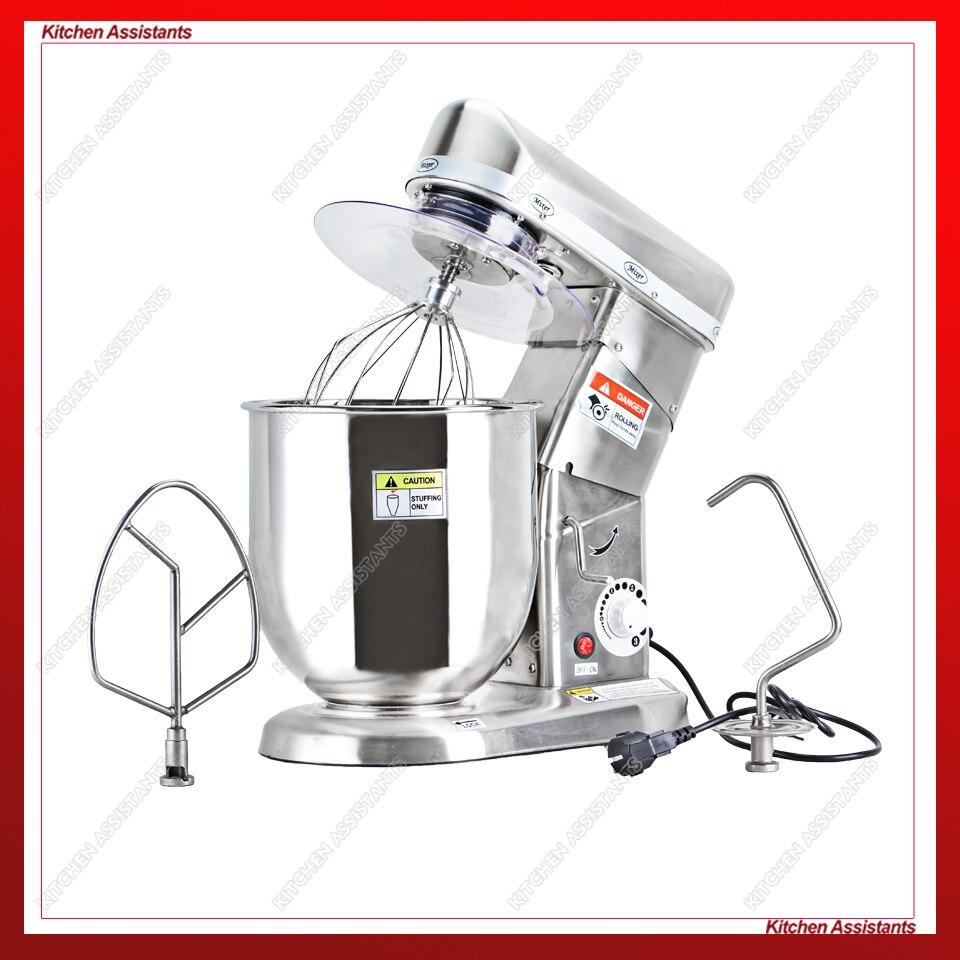 5L food mixer, planetary mixer, dough mixer, cream mixer, blender mixer, chocolate mixer Миксер