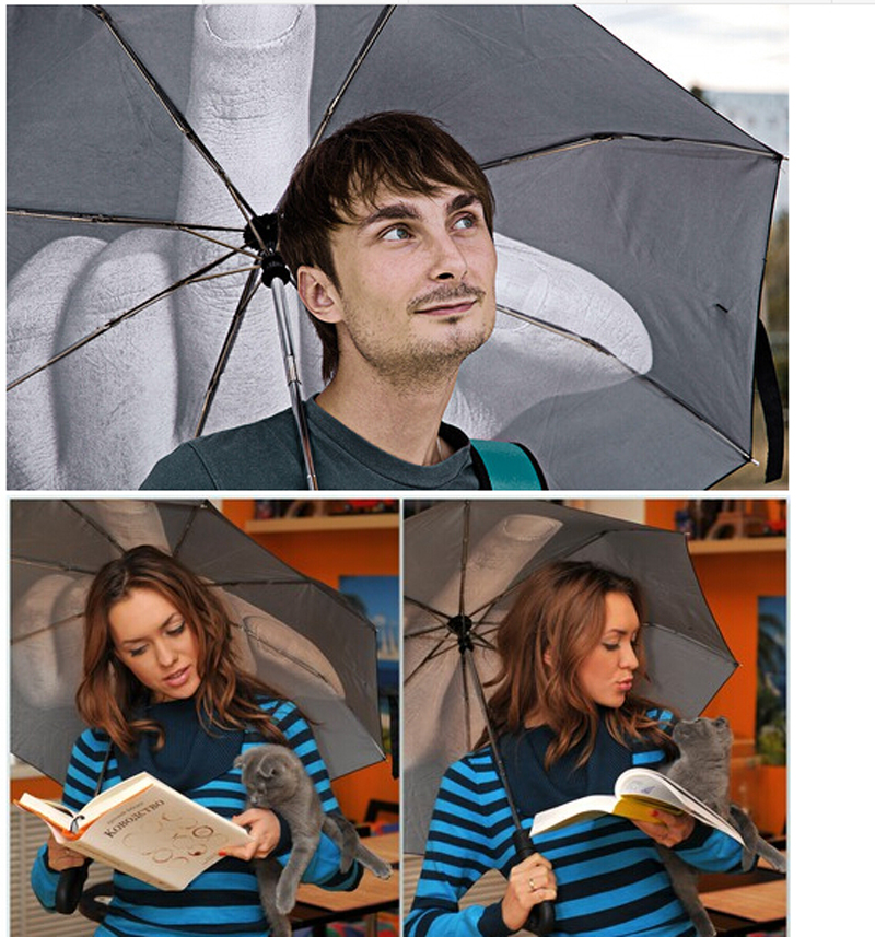 middle finger umbrella up yours umbrella creative gifts trend in