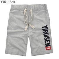 En gros 26 Styles YiRuiSen Marque Hommes Shorts 100% Coton Shorts Occasionnels Boardshorts D'été Pantalon Court Pour Hommes Hip Hop Mode