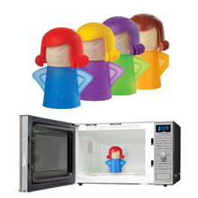 LMETJMA 4 Color Angry Mama Microwave Oven Cleaner Steam