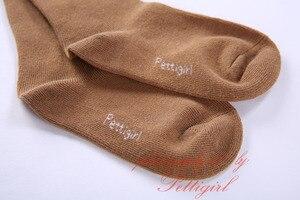 Image 5 - Pettigirl moda kız çorap bebek fırfır Pom çorap yüksek diz el yapımı sevimli çocuklar çorap butik