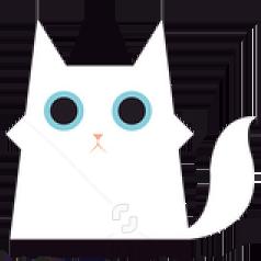 花了一天一夜时间设计迷路猫VIP图标结果……