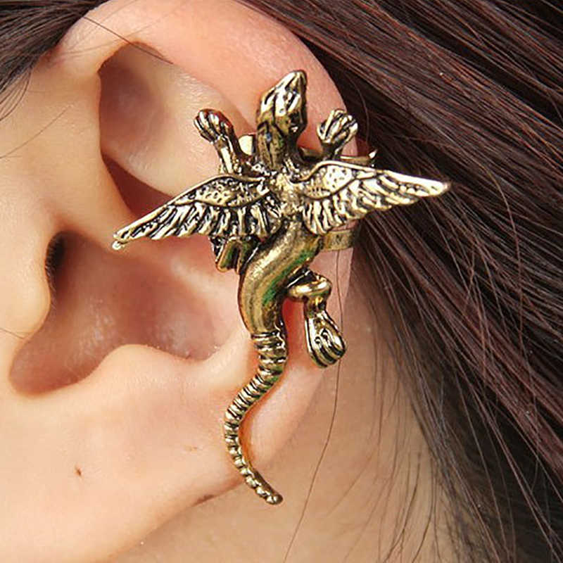1-Pcs-Gothic-Punk-Monster-Dragon-Earrings-Femme-Vintage-Personality-Animal-Earrings-For-Women