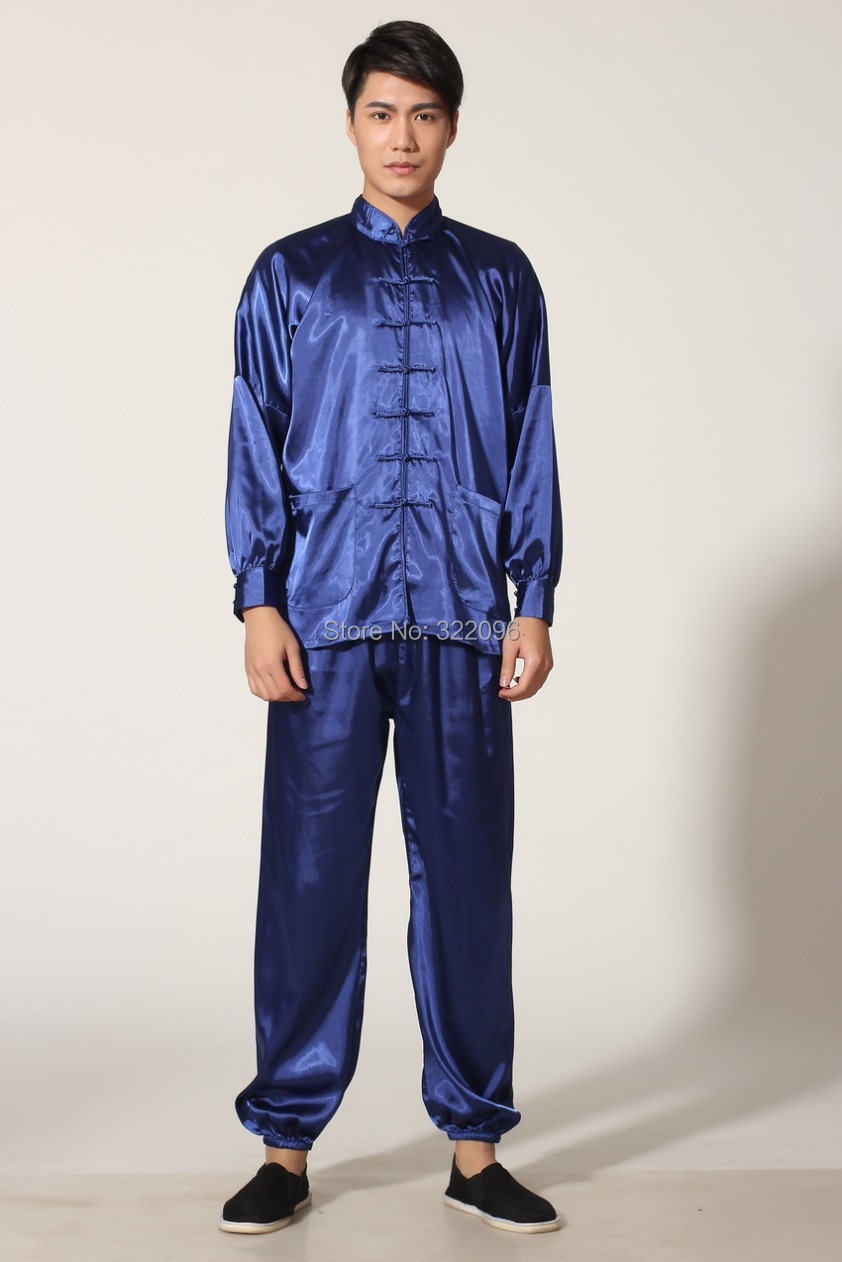 Shanghai Story Kungfu Suit Tai Chi Wing Chinese Kung Fu Suit Chinese Tai Chi Suit Jacket + Pants Taichi Uniform Kungfu Clothes