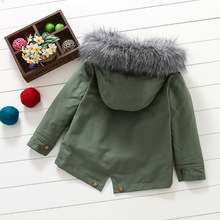 Winter Down Jacket For Boys Winter Children's Clothes For Boy Snowsuit Warm Coat Fashion Baby Chothing Kids Child Outwear Winter