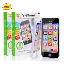 New kids child yphone music mobile phone study educational toy english touch learning machine children fun.jpg 250x250