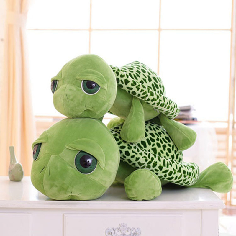 2017 New Cute Tortoise Plush Toys Soft Stuffed Turtle Doll Plush Pillow Staffed Children Toys Best Gift For Kids C63