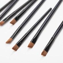 50 pcs/set tOP Quality Slanted Eyebrow Brush Practical Eyeshadow Eye Pencil Brushes Easy-using Makeup Limited Sale