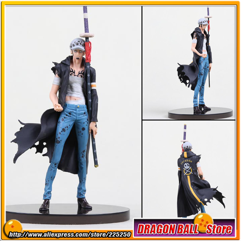Japan Anime One Piece Original BANPRESTO Scultures BIG Zoukeiou 5 Vol.6 Complete Collection Figure - Trafalgar Law the complete crumb comics vol 8