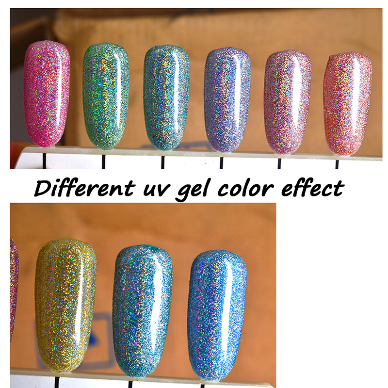Holographic Nail Glitter Dust | Best Nail Designs 2018