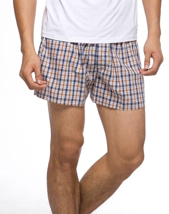 Underwear Men Boxers Cotton Mens Underwear Boxer Shorts Cueca Boxer For Man  Truck Shorts Bermudas Masculina De Marca 5PCS LOT-in Boxers from Underwear  ... 80570c33b74