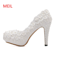 Women Shoes Sandals Mujer 2018 Dames Schoenen Zapatos Mujer Scarpe Donna Tacco Alto Sexy 14CM High Heels Peep Toe Platform Pumps manmitu9 free shipping european vogue lace single shoes women platform pumps fashion sexy peep toe high heels zapatos mujer 16cm