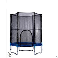 TECHSPORT diameter 8 feet 48 springs adult child trampoline, ladder gift, outdoor bouncing bed, can load 150KG jumping bed