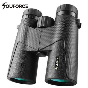 8X42 10X42 professional military binocular telescope waterproof center focus BAK4 prism telescope for outdoor camping hunting