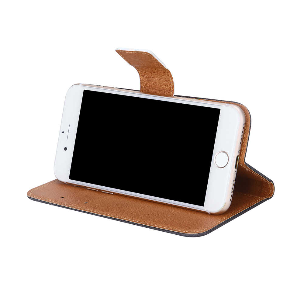 AiLiShi フライ FS526 パワープラス 2 ケース専用電話 FS526 パワープラス 2 革ケースフリップクレジットカードホルダー財布 6 色