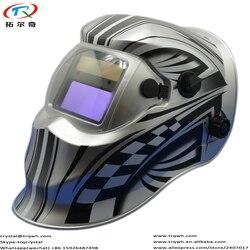 Ciemny State odcień DIN9-13 poza sterowania Tig Mig Arc maska do spawania cena fabryczna spawacz Pro pełna twarzy oczu spawania akcesoria części