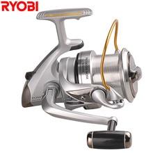 RYOBI Super Strength Full Metal Spinning Fishing Reel 4+1BB 3.9:1 Max Drag 12kg Molinete Pesca Peche Carretilhas De Pescaria