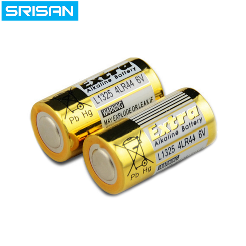 SRISAN 8pcs/lot 4LR44 476A L1325 6V Dry Alkaline <font><b>Battery</b></font> Cells Car Remote Watch Toys Calculator <font><b>High</b></font> <font><b>Capacity</b></font>