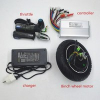 36V 48V 350W electric motor scooter kit 8inch hub motor wheel for electric scooter/escooter/ebike/folging electric scooter
