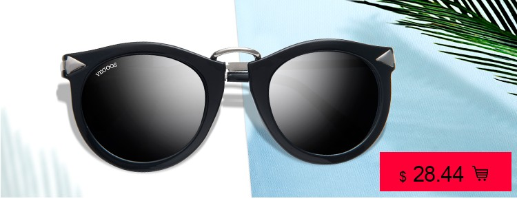 d1856d826 VEGOOS العلامة التجارية تصميم الاستقطاب بارد الرجال الطيارين النظارات  الشمسية فوق البنفسجية حماية نظارات شمسية الطيار كبيرة إطار حجم L