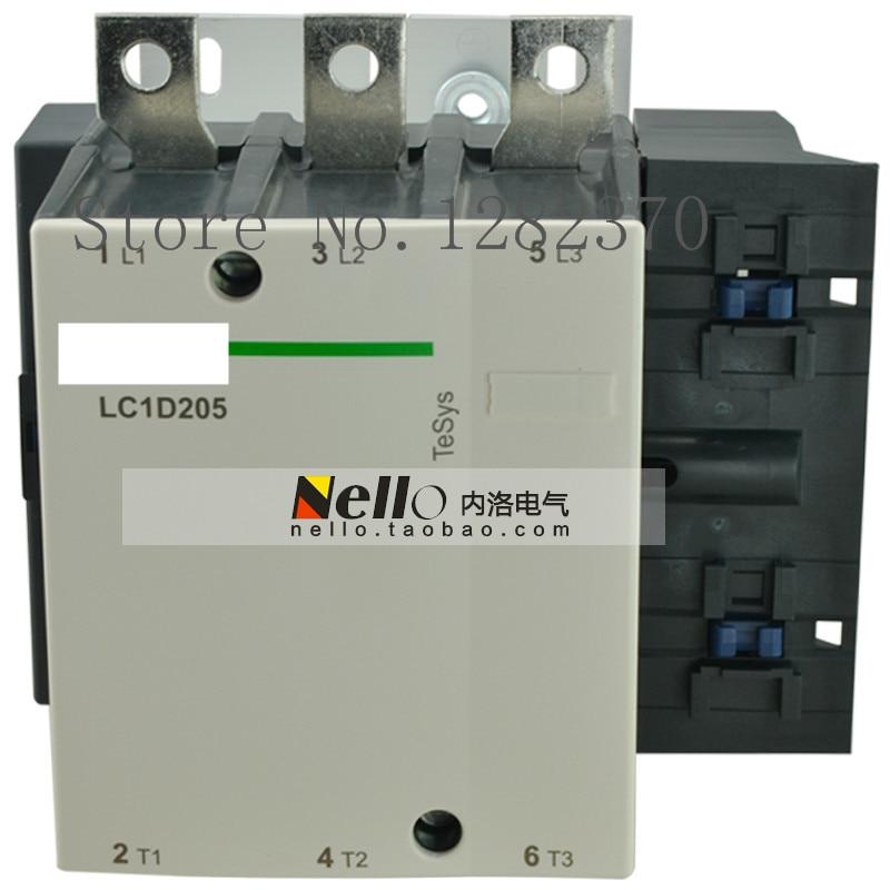 [ZOB] Authentic original contactor LC1D205 LC1D205F7C/Q7C/C7C/M7C/B7C/E7C AC24V/36V/48V/110V/220V/380V AC contactor